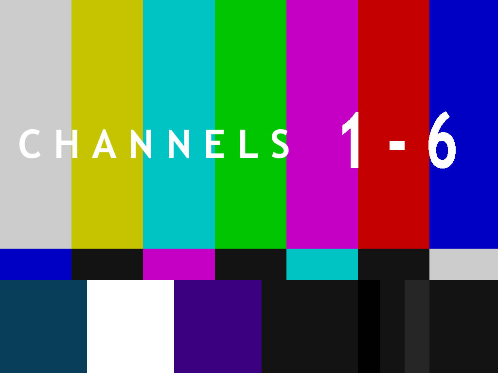 Channels 1-6