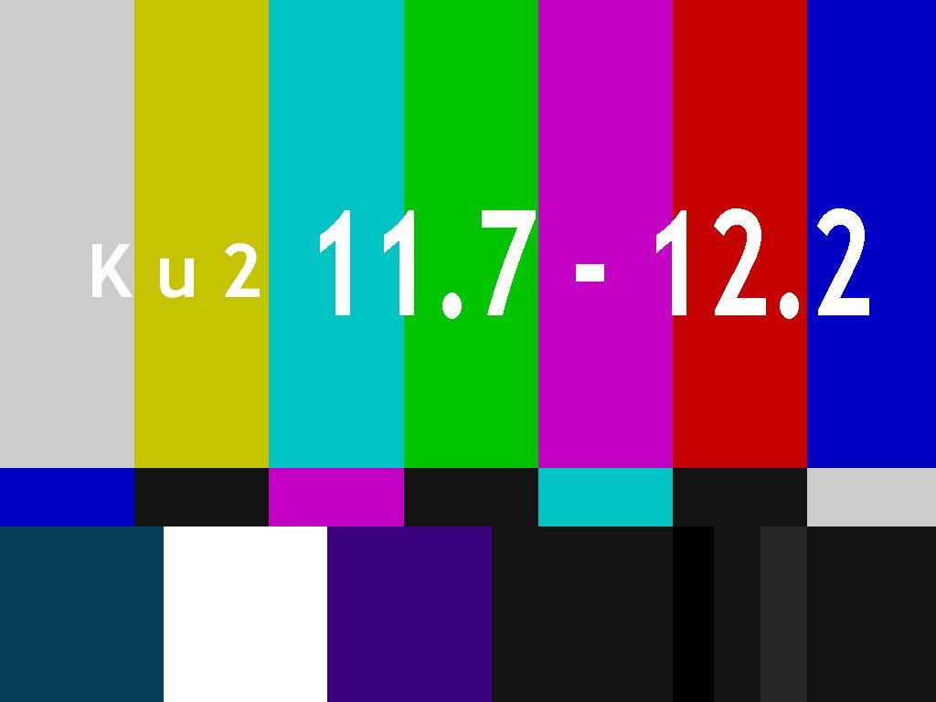 11.7 - 12.2 GHz